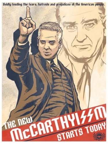 Glenn Beck - McCarthyism Today Poster