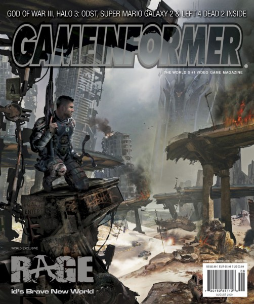 id Software Rage - Game Informer August Cover