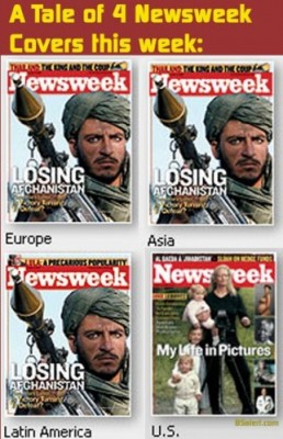 A Tale of 4 Newsweek Covers