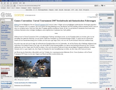 Unreal Tournament 2007 basiert auf Quake 3 Engine ??!??