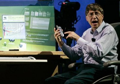 Bill Gates heult