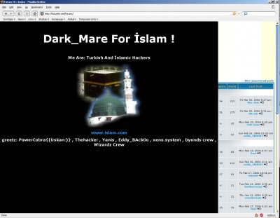 Future Hi: Hacked by Islam