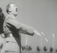 Adolf Hitler auf dem NSDAP Reichsparteitag in Nrnberg